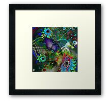 Eyes are Made to console, make drunk and seduce, Framed Print