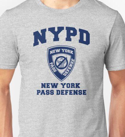 NEW YORK PASS DEFENSE all blue Unisex T-Shirt