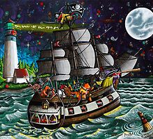 The Westport Pirates by JakeHose