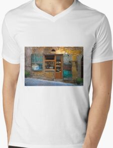 Tuscany wine shop Mens V-Neck T-Shirt