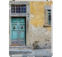 Tuscany door iPad Case/Skin