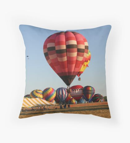 The Launch... Throw Pillow