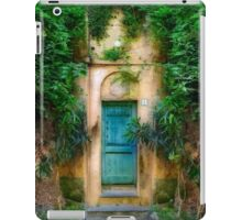 Tuscany doorway iPad Case/Skin