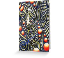 Tribal Spirit Greeting Card