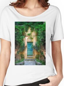 Tuscany doorway Women's Relaxed Fit T-Shirt