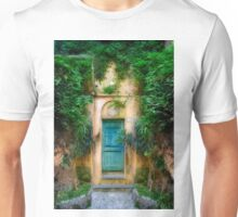 Tuscany doorway Unisex T-Shirt