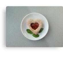 cookies heart Metal Print