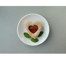 cookies heart Photographic Print