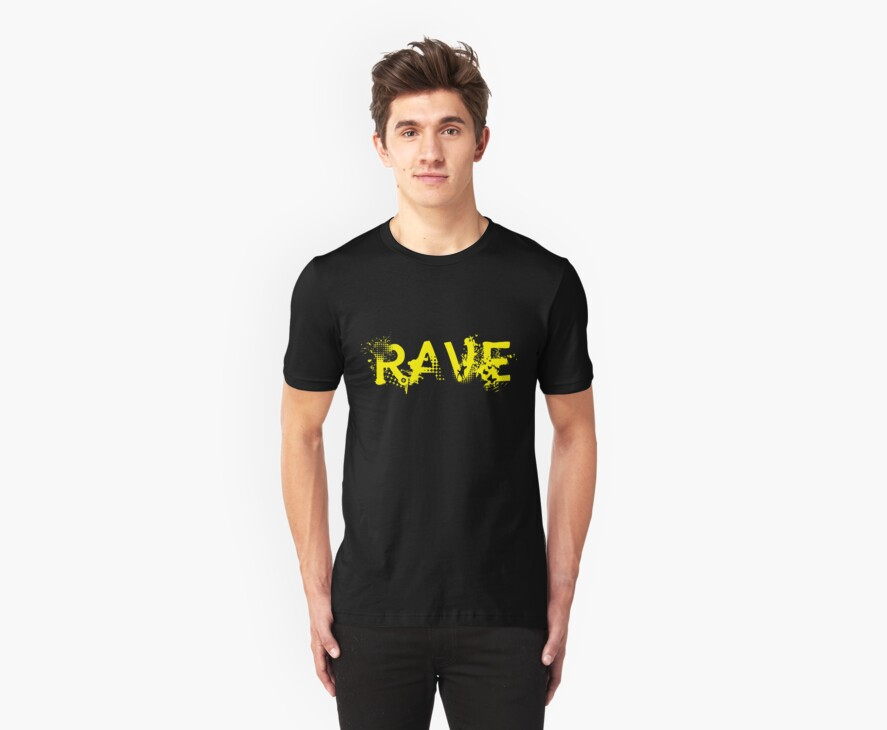 TRASHED RAVE by Awesome Rave T-Shirts