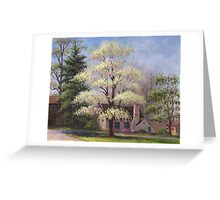 Clouds of Spring Greeting Card