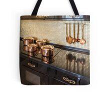 Interior of modern luxury kitchen Tote Bag
