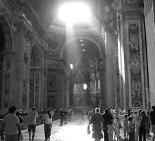 St. Peters Basilica by gotmiller