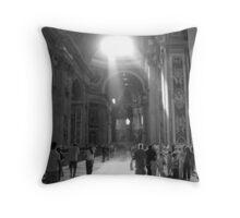 St. Peters Basilica Throw Pillow