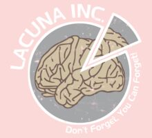 Lacuna Inc. logo from Eternal Sunshine of the Spotless Mind Kids Clothes