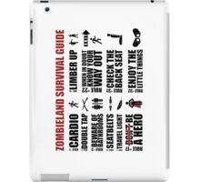 Zombieland Survival Guide iPad Case/Skin
