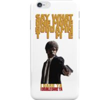 I Dare Ya iPhone Case/Skin