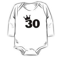 Crown 30th birthday One Piece - Long Sleeve