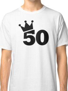 Crown 50th birthday Classic T-Shirt