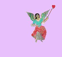 An Angel tugging at your Heart by DAdeSimone