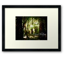 A White Christmas Framed Print