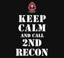 KEEP CALM AND CALL 2ND RECON by PARAJUMPER