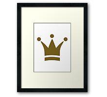 Crown champion Framed Print