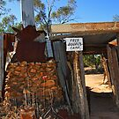 Fred Bodel&#x27;s Camp at Lightning Ridge by Darren Stones