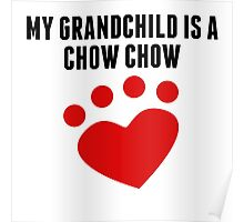 My Grandchild Is A Chow Chow Poster