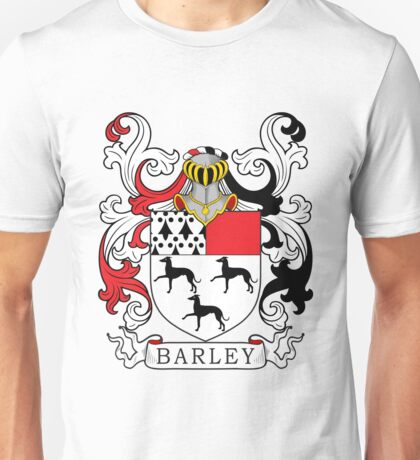 Barley Coat of Arms Unisex T-Shirt