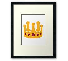 Crown jewels Framed Print