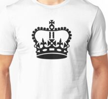 Black king crown Unisex T-Shirt