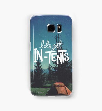 Let's Get In-Tents Samsung Galaxy Case/Skin