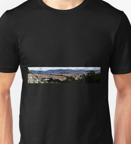 Turi and Cuenca Ecuador Panorama Unisex T-Shirt