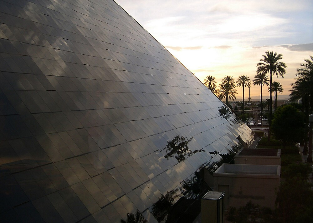 A Pyramid Scene by Jeremy Evans