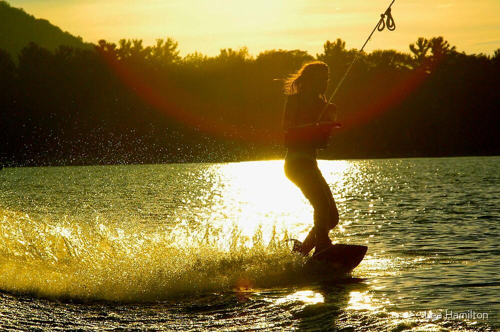 Wakeboarding by Lea Hamilton