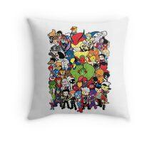 Lil Avengers Assemble! Throw Pillow