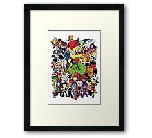 Lil Avengers Assemble! Framed Print