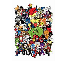 Lil Avengers Assemble! Photographic Print