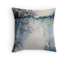 watercolor 090607 Throw Pillow