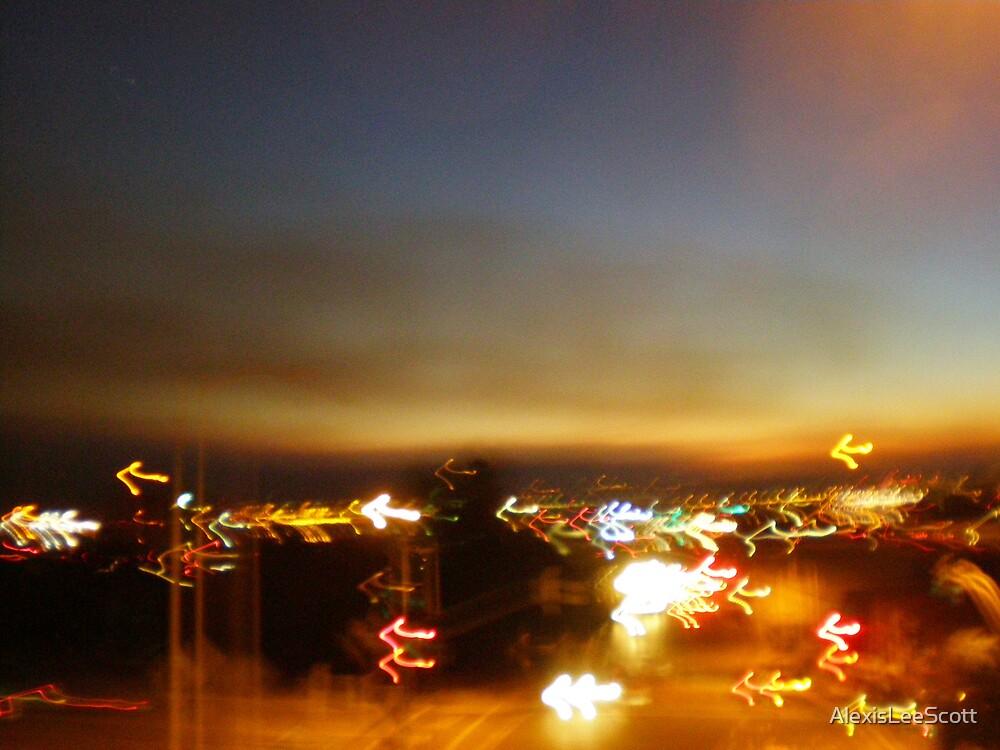 Smoke Over the City  by AlexisLeeScott