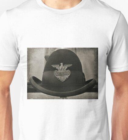 Antique Pinkerton Police Cap Unisex T-Shirt