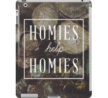 Homies Help Homies iPad Case/Skin