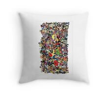 Every Lil Avenger (I think) Throw Pillow