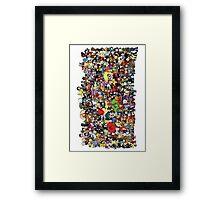 Every Lil Avenger (I think) Framed Print