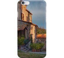 Tuscany mountain house iPhone Case/Skin