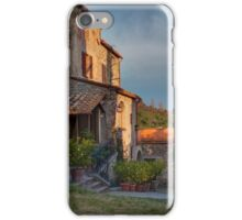 Tuscany mountain house iPhone Case/Skin