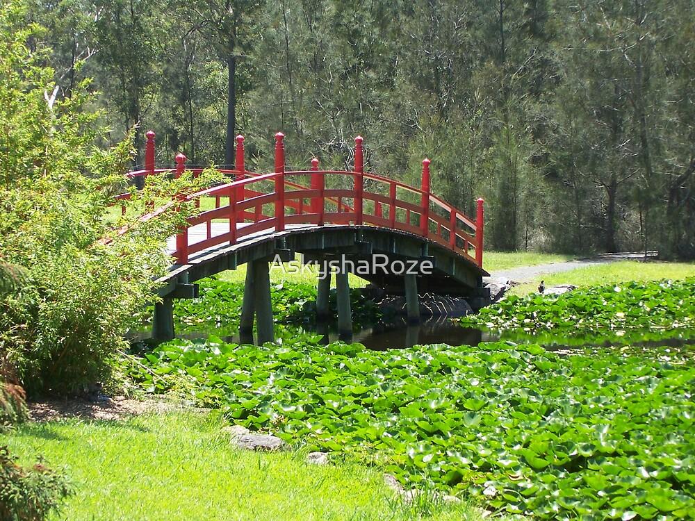 Japanese Bridge by Kylie  Metz