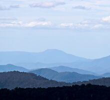View from Mt Buller by kraftyman