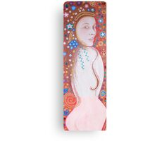 Brown Eyed Girl  FULL  LENGTH PORTRAIT Canvas Print
