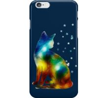 Galactic Space Pussy On Milky Way, Cat, Space, Galaxy iPhone Case/Skin